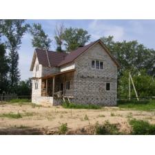 Жилой дом в Доскино из газосиликатных блоков