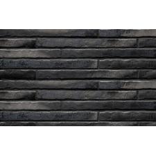 Клинкерная плитка Riegel 50 453 silber-schwarz  490х52х14